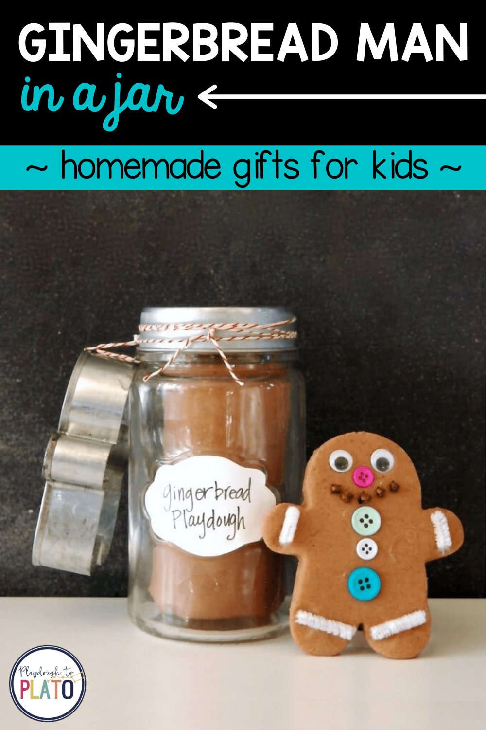 Gingerbread Man in a Jar
