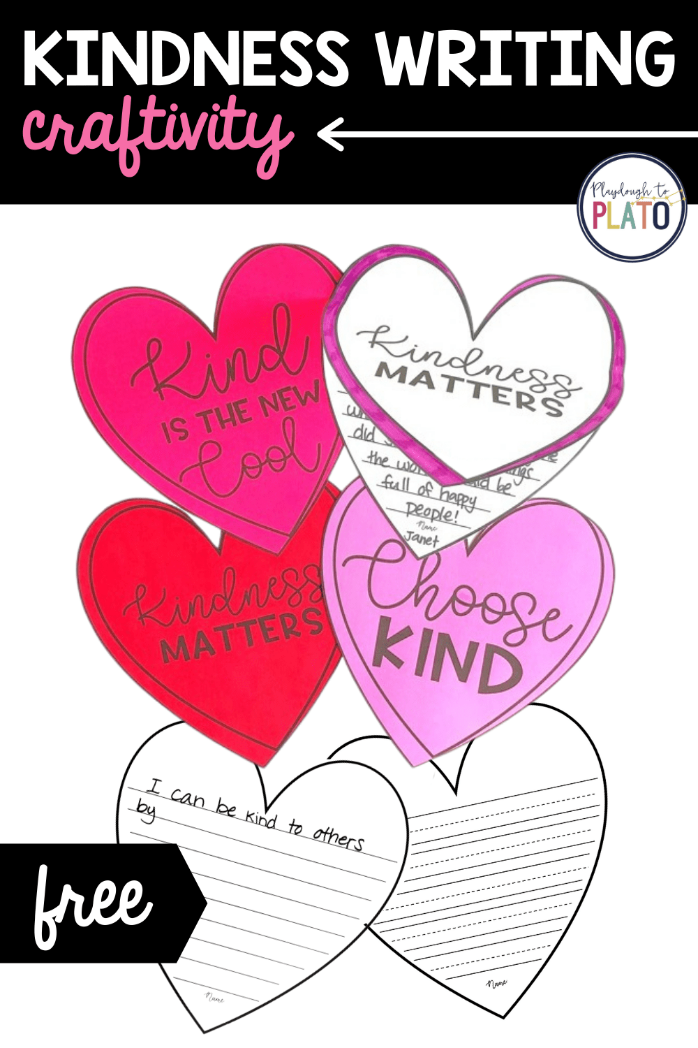 Kindness Writing Craftivity