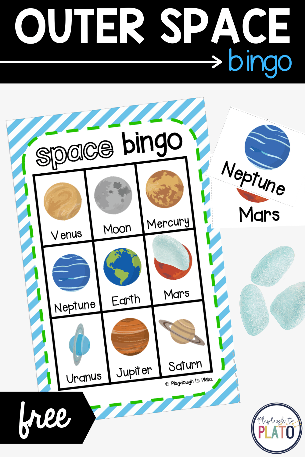 Outer Space Kids' Bingo