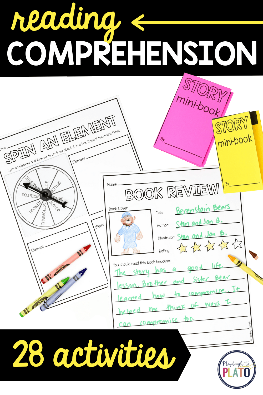 28 Reading Comprehension Activities